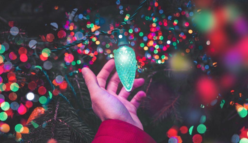 ahorrar energía eléctrica en Navidad